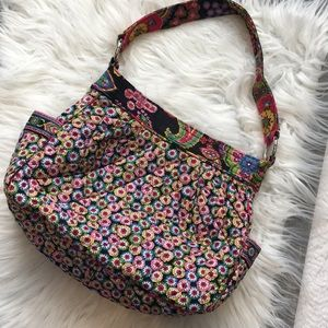 Gorgeous Vera Bradley reversible shoulder bag